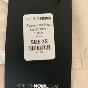 Fashion Nova Dresses - Black Sheer Maxi